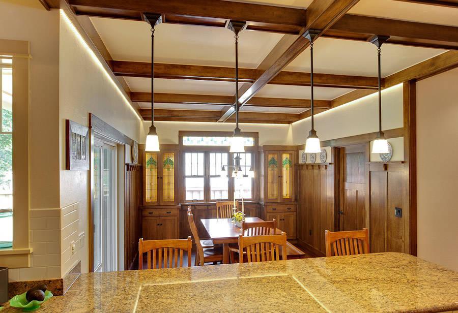 robert havas stairs wood carpentry living room remodel oregon