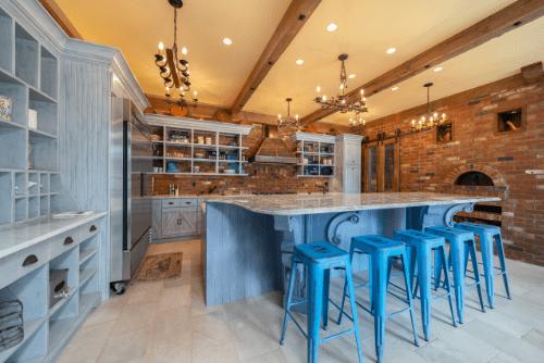 castle kitchen french country home remodel design robert havas