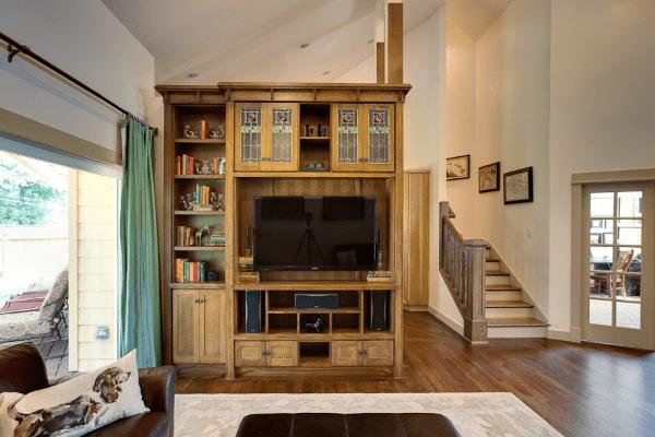 robert havas stairs carpentry living room remodel oregon